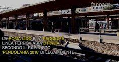 Viaggio sulla Roma-Lido (video)