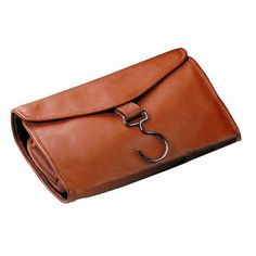 d879244923 Royce Leather Hanging Toiletry Travel Bag in Genuine Leather Color  Tan  Travel Bottles