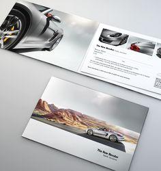 Porsche Boxster Invitation for the launch of the new Porsche Boxster 2012.