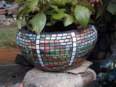 Glass Mosaic Pots | Recent Photos The Commons Getty Collection Galleries World Map App ...