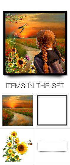 """""""The Bird That Brings Summer"""" by mari-777 ❤ liked on Polyvore featuring art"""