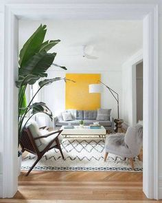 Decorating for positive energy … yellow is key!