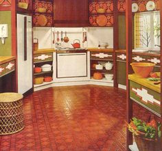 1970's Kitchen