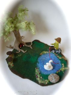 Hey, I found this really awesome Etsy listing at http://www.etsy.com/listing/153517027/wet-felted-tree-play