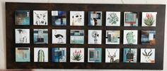 Glass Panels, Fused Glass, Photo Wall, Arts And Crafts, Abstract, Frame, Home Decor, Summary, Picture Frame