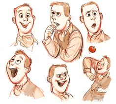 The many faces of Arthur Shappey as drawn by the brilliant Tealin