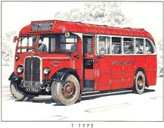 London transport AEC Regal Weymann bodywork previously fitted to earlier AEC Reliance chassis that were mounted on the later Regal chassis in Road Transport, London Transport, Public Transport, Classic Trucks, Classic Cars, Bus Art, Bus Coach, London Bus, Busses