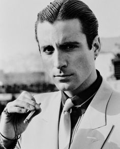 Andy Garcia..this name always finished my sentence...oh yeah he is as hot as ANDY GARCIA