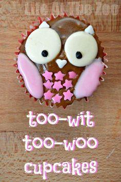 Owl Cupcakes - cute!!!