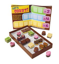 Who doesn't love chocolate? Visit our website to enter to win this cool chocolate themed math learning aid from Lakeshore Learning! Sweepstakes ends Thursday 9/12!