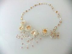 Champagne Nest in Sterling Silver  Ethereal by RiRiJewelrybyNaoko