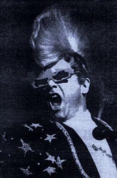 0453431ea353 Elton John wearing Alain Mikli x Claude Montana. Optical Vision Resources