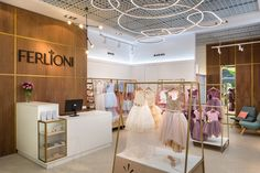 FERLIONI store by Larisa Gusakova and Aleksandr Gusakov / The Goort, Kyiv – Ukraine » Retail Design Blog