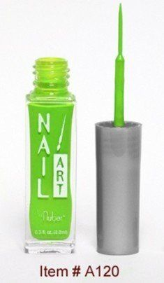 Nubar Nail Art Striper - Neon Lime by Nubar. $4.99. Nubar Nail Art Stripers are one of Nubar's best selling product Ranges, Nail Art Stripers are easy to use and available in a range of colours and finishes, including the ever popular glitters.