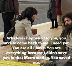 Olivia Pope & Huck - This is the wonderful man I named my dog after, he saved me!!!