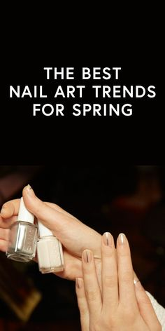 Your ultimate guide to the best nail art trends for spring