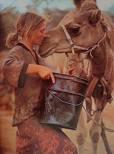 Robyn Davidson - SO inspired by this lady right now.