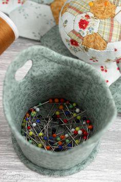 Кадочка / Basket for pins - Вечерние посиделки