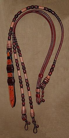 Rawhide and Leather Braided Tack Photo Gallery