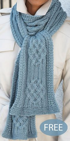 Free Knitting Pattern for Hill and Valley Cable Scarf Free Knitting Pattern for Hill and Valley Cable Scarf - Timeless scarf with a stunning braided cable stitch design. Knitting Pattern for Hill and Valley Cable Scarf Outlander Knitting Patterns, Cable Knitting Patterns, Lace Knitting, Knit Patterns, Free Knitting Patterns For Women, Gilet Crochet, Knitting For Beginners, Ravelry, Free Pattern