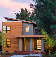 Interesting Modern Wood house