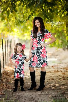 Matching Mother Daughter Dresses Mother Daughter