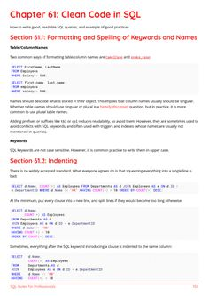 SQL Example Page 4 Sql Cheat Sheet, Cheat Sheets, Medical Technology, Energy Technology, Technology Gadgets, Data Science, Computer Science, Computer Projects, Net Framework