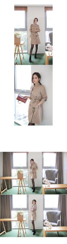 [레베카 트렌치코트]