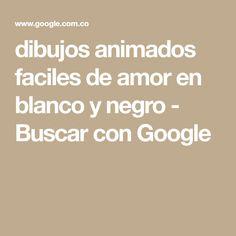 dibujos animados faciles de amor en blanco y negro - Buscar con Google