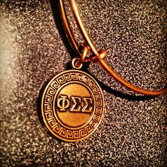 Phi Sigma Sigma Alex and Ani bracelet..added this one to my collection the other day!