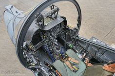 RAF Harrier GR9 Cockpit - 2011Photo: Mark Jayne A 10 Aircraft, Helicopter Cockpit, Fighter Aircraft, Military Jets, Military Aircraft, Modern Fighter Jets, Flight Simulator Cockpit, Ejection Seat, Aircraft Interiors