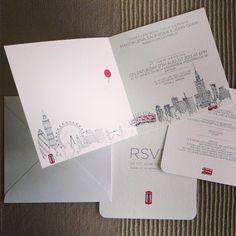 #londoncalling #londyn #warszawa #motywprzewodni #weddinginvitations #robimyśluby