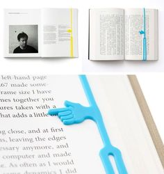 Print not Dead: 25 Creative Bookmark Designs / inspirationfeed.com on imgfave