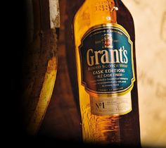Grant's Ale Cask whisky, the only Ale Cask Scotch whisky in the world.