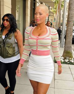 Amber Rose. Always Perfect.