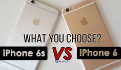 iPhone 6 VS iPhone Which one is worth to buy in iPhone iPhone and iPhone plus buy at cheap price in INDIA. so grab the best buy deals from itechhacks Unlock Iphone Free, Cool Things To Buy, Stuff To Buy, Iphone 6, Cool Stuff To Buy
