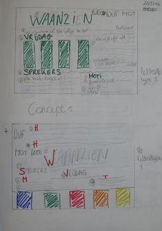 Concept 1: Schetsen (verbetering)