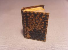 book Pride and Prejudice  miniature 112 scale by cockerina on Etsy