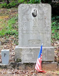 Southern Graves: PFC Lawrence E. Patton, Killed In Action (and His Gold Star Mom)