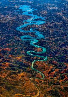 - The Blue Dragon River, Portugal
