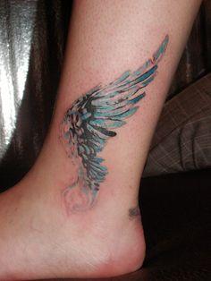 Wing tattoo by steelteamstudio.deviantart.com on @deviantART