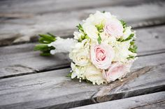 Just a simple wedding bouquet.