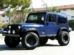 1995 Jeep Wrangler   1995_jeep_wrangler_sport_navy_blue_6_cylinder_5_speed_manual_glendale ...