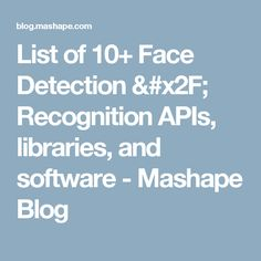 Image result for IBM Watson facial recognition | Intelligent Video