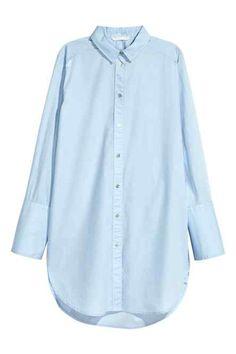 Długa koszula z bawełny