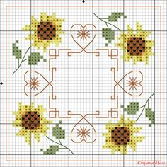 no color chart available, just use the pattern chart as your color guide. Cross Stitch Boards, Just Cross Stitch, Cross Stitch Heart, Cross Stitch Flowers, Biscornu Cross Stitch, Counted Cross Stitch Patterns, Cross Stitch Designs, Embroidery 3d, Cross Stitch Embroidery