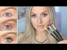 Three Step Eyeshadow For Beginners! ♡ Simple, Everyday | Shannon H. Video | Beautylish