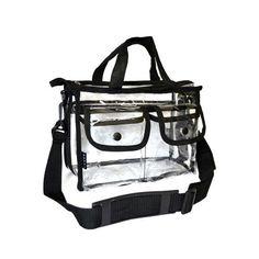Monda Studio Clear Set Bag - Small Black