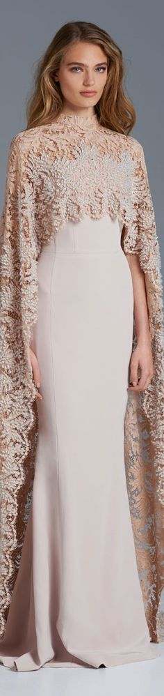 Paolo Sebastian 2015/16 A fabulous wedding gown. Chic, elegant and utterly romantic.