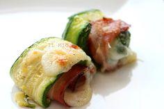 Involtini di zucchine con speck e mozzarella _  il mio saper fare